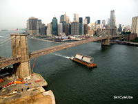 new york harbor aerial photography