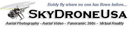SkyDroneUsa Remote Controled Helicopter Cinematography